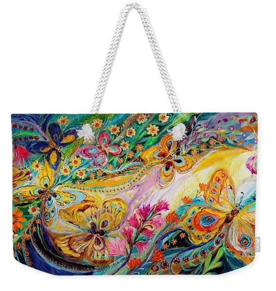 The Dance Of Butterflies Weekender Tote Bag