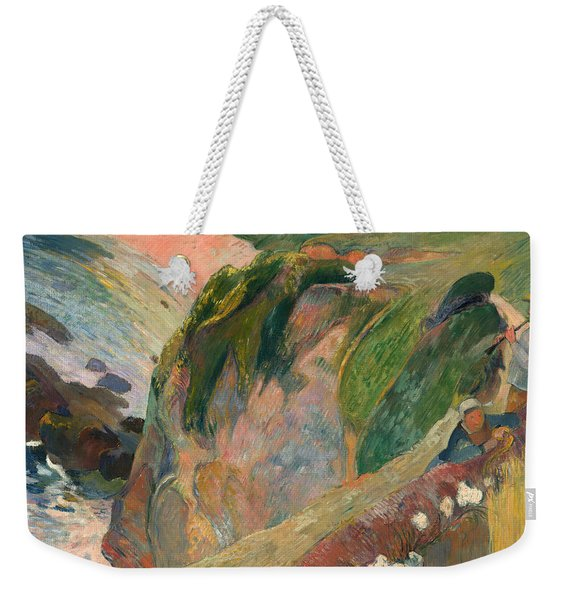 The Flageolet Player On The Cliff Weekender Tote Bag