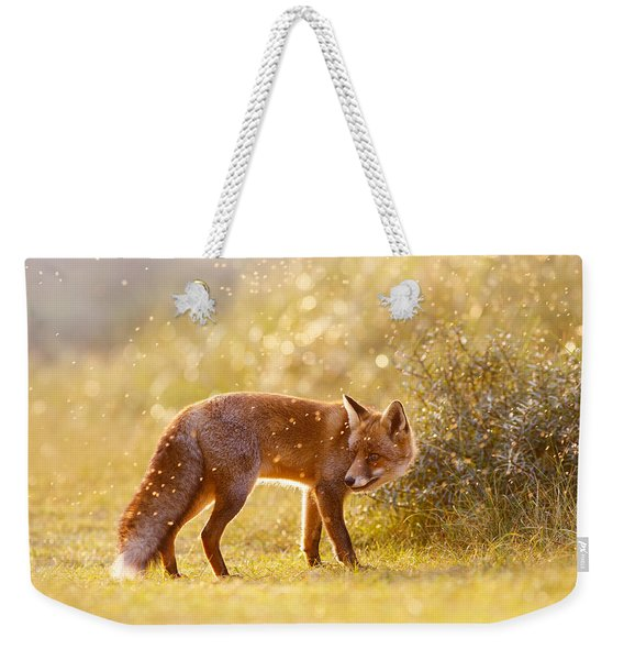 The Fox And The Fairy Dust Weekender Tote Bag