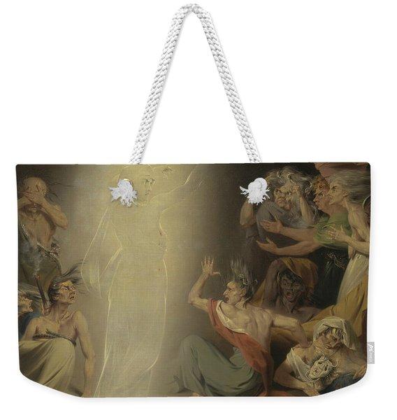The Ghost Of Clytemnestra Awakening The Furies Weekender Tote Bag
