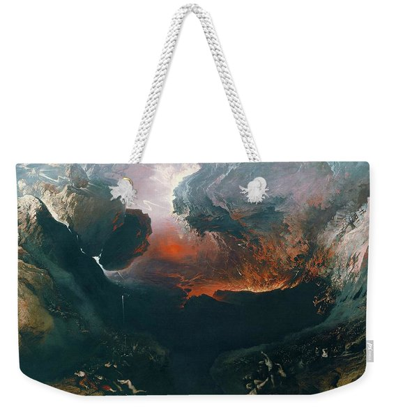 The Great Day Of His Wrath Weekender Tote Bag