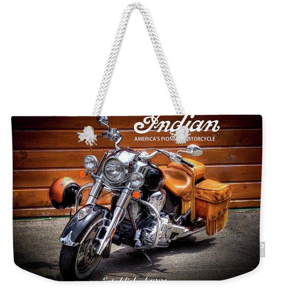 The Indian Motorcycle Weekender Tote Bag