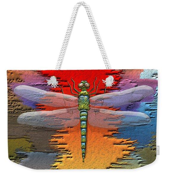 The Legend Of Emperor Dragonfly Weekender Tote Bag