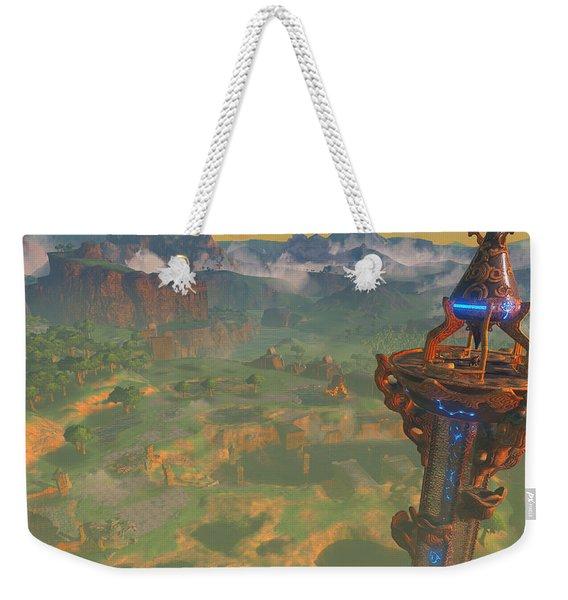 The Legend Of Zelda Breath Of The Wild Weekender Tote Bag