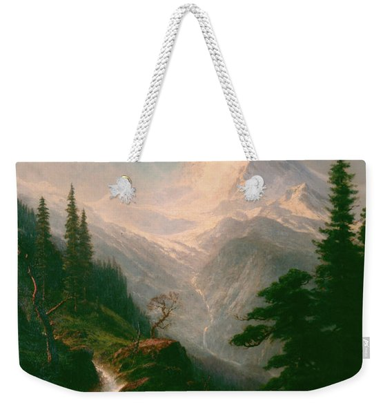 The Matterhorn Weekender Tote Bag
