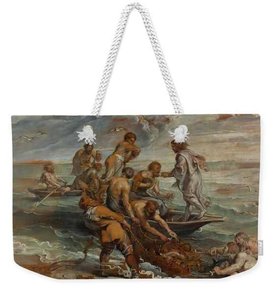 The Miraculous Draught Of Fishes Weekender Tote Bag