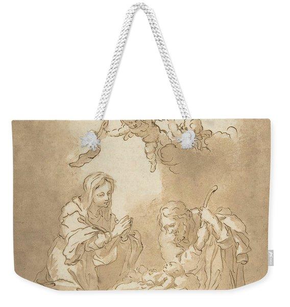 The Nativity Weekender Tote Bag