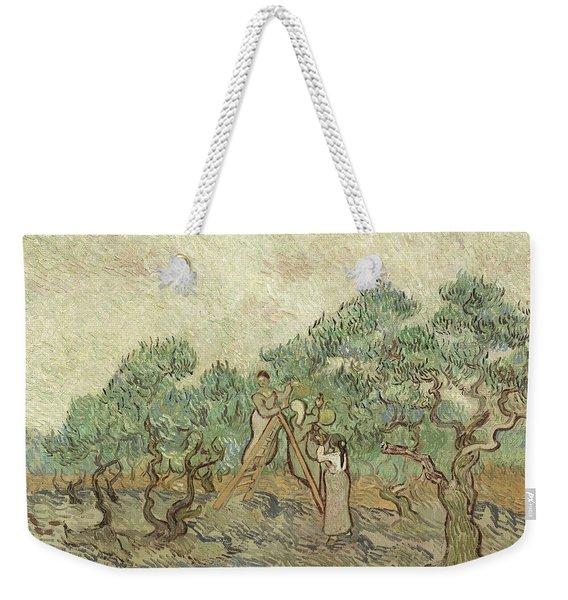The Olive Orchard Weekender Tote Bag