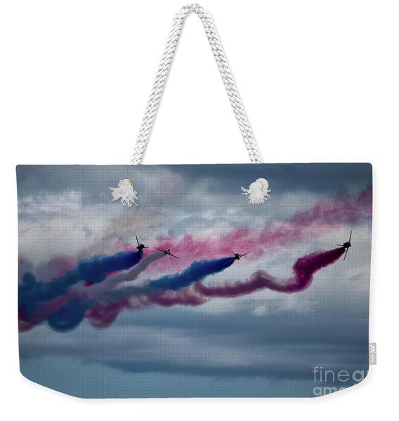 The Red Arrows Weekender Tote Bag