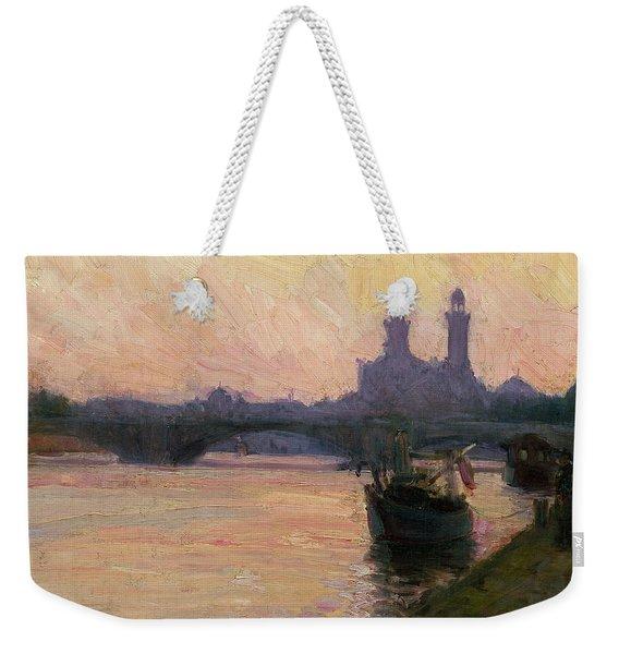 The Seine Weekender Tote Bag