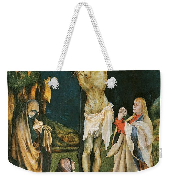 The Small Crucifixion Weekender Tote Bag