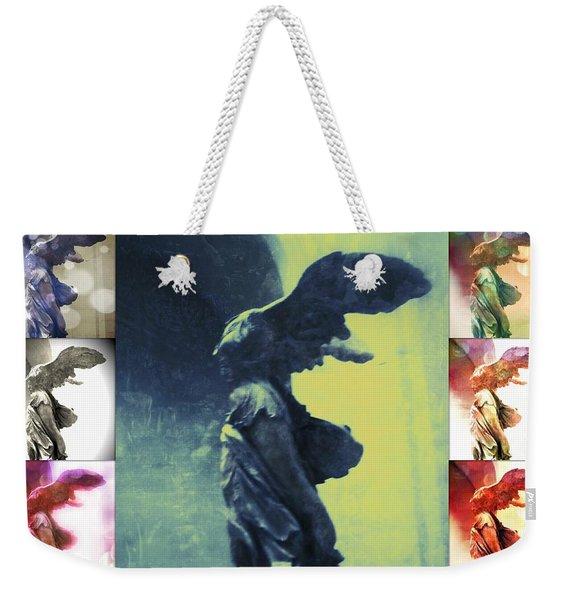The Winged Victory - Paris - Louvre Weekender Tote Bag