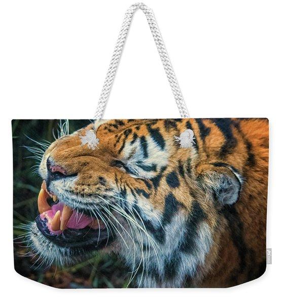 Tiger Roar Weekender Tote Bag