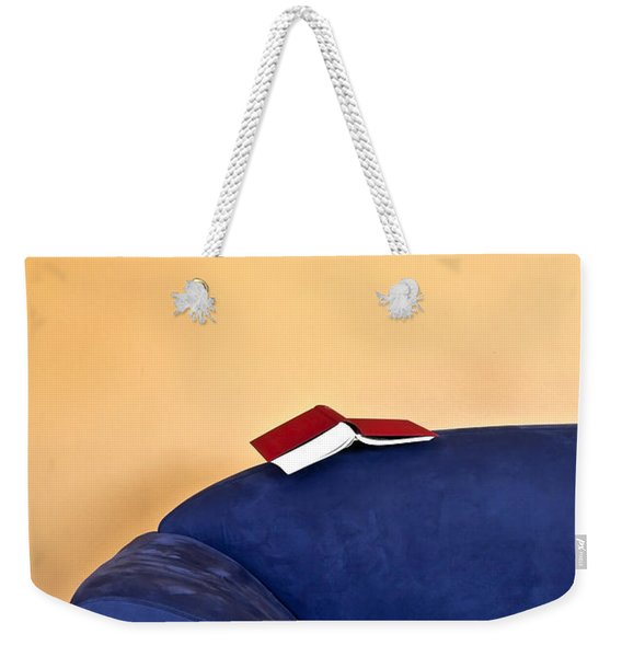 Time To Read Weekender Tote Bag