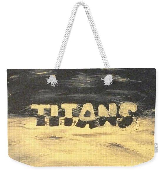 Titan Pride Weekender Tote Bag