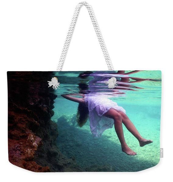 Underwater Reflection Weekender Tote Bag