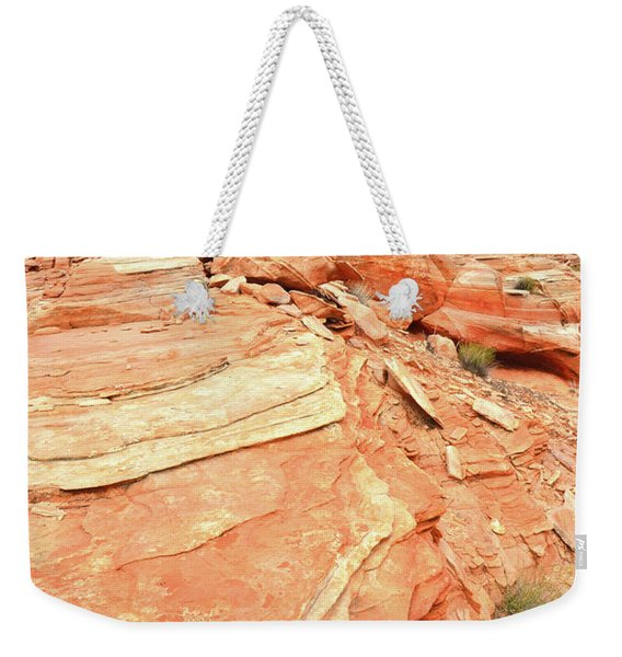 Valley Of Fire High Country Weekender Tote Bag
