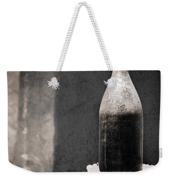 Vintage Beer Bottle Weekender Tote Bag