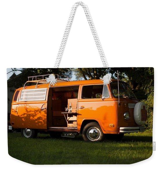 Volkswagen Bus T2 Westfalia Weekender Tote Bag