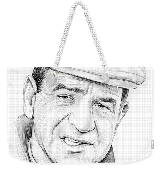 Walter Matthau Weekender Tote Bag