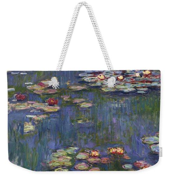 Water Lilies, 1916 Weekender Tote Bag
