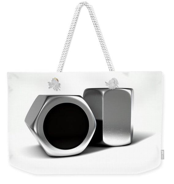 Wheel Nuts Weekender Tote Bag