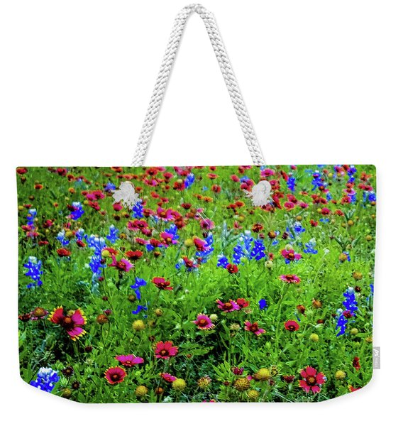 Wildflowers In Bloom Weekender Tote Bag