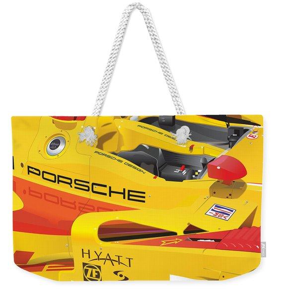 2008 Rs Spyder Illustration Weekender Tote Bag