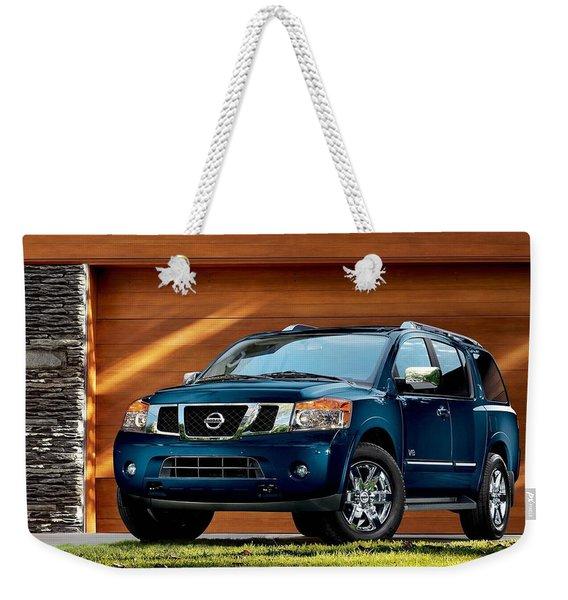 2010 Nissan Armada Weekender Tote Bag