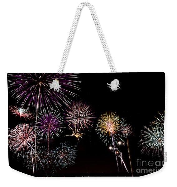 2013 Fireworks Over Alton Weekender Tote Bag