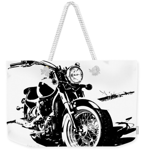 2013 Kawasaki Vulcan Classic Graphic Weekender Tote Bag