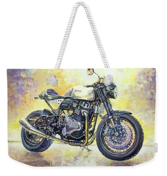 2015 Norton Dominator  Weekender Tote Bag
