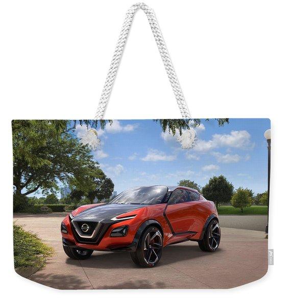 2016 Nissan Gripz Concept 3 Wide Weekender Tote Bag