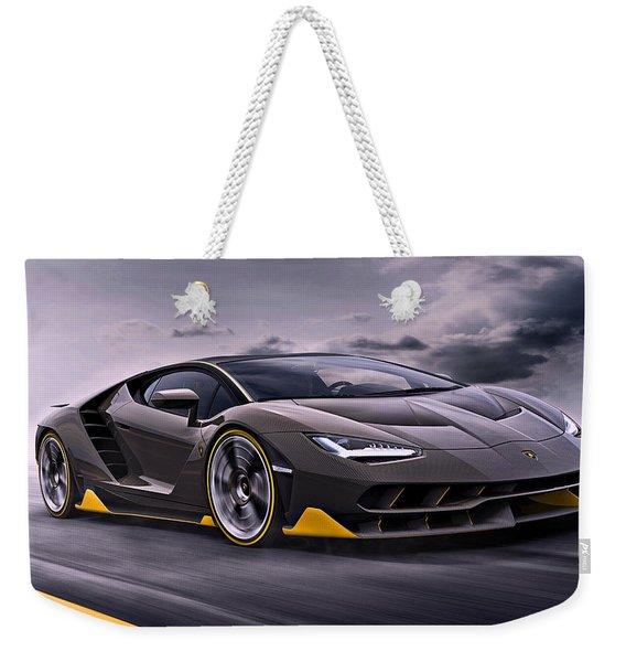 2017 Lamborghini Centenario Weekender Tote Bag
