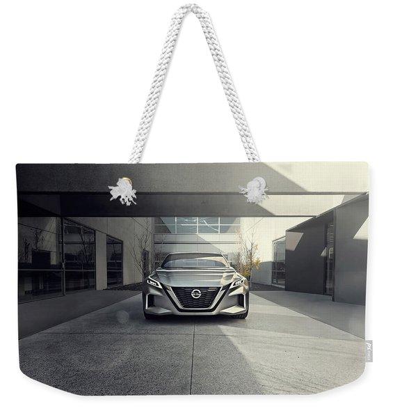 2017 Nissan Vmotion 2 Concept 4 Weekender Tote Bag