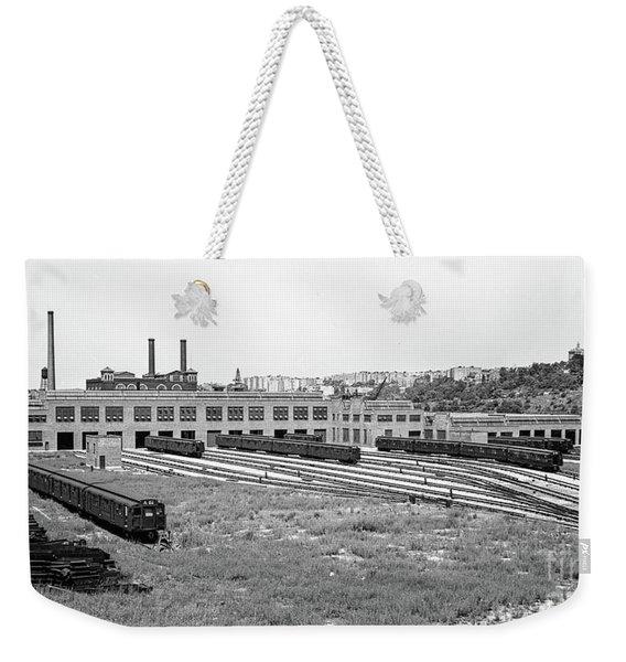 207th Street Railyard Weekender Tote Bag