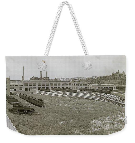 207th Street Railyards Weekender Tote Bag
