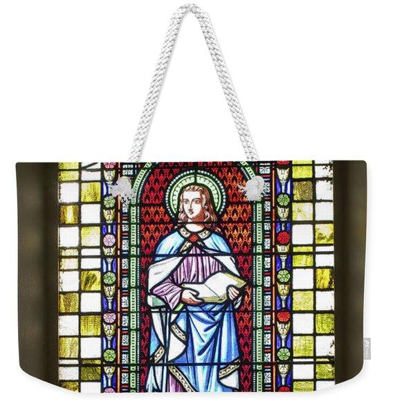 Saint Anne's Windows Weekender Tote Bag