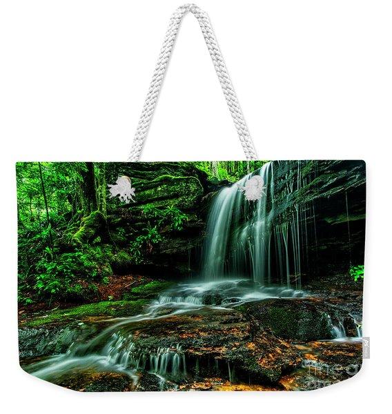 West Virginia Waterfall Weekender Tote Bag