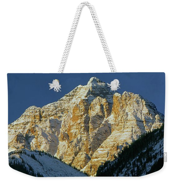 210418 Pyramid Peak Weekender Tote Bag
