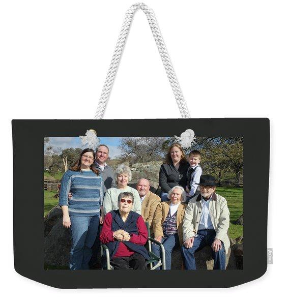 22 Weekender Tote Bag