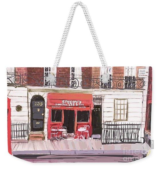 221 B Baker Street Weekender Tote Bag