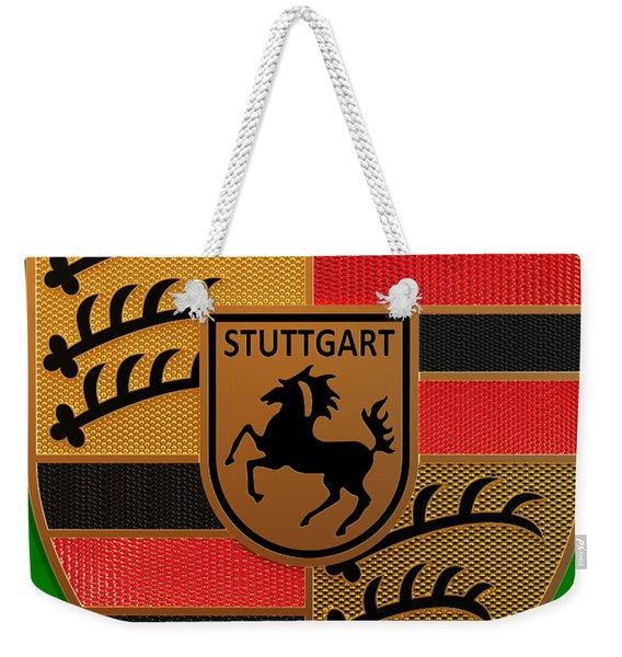 Porsche Label Weekender Tote Bag