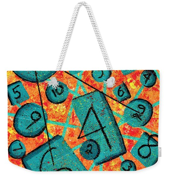 25 Or 6-2-4  Weekender Tote Bag