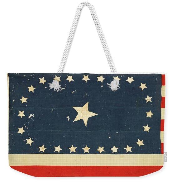 25-star American National Flag Weekender Tote Bag
