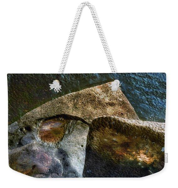 Stone Sharkhead Weekender Tote Bag