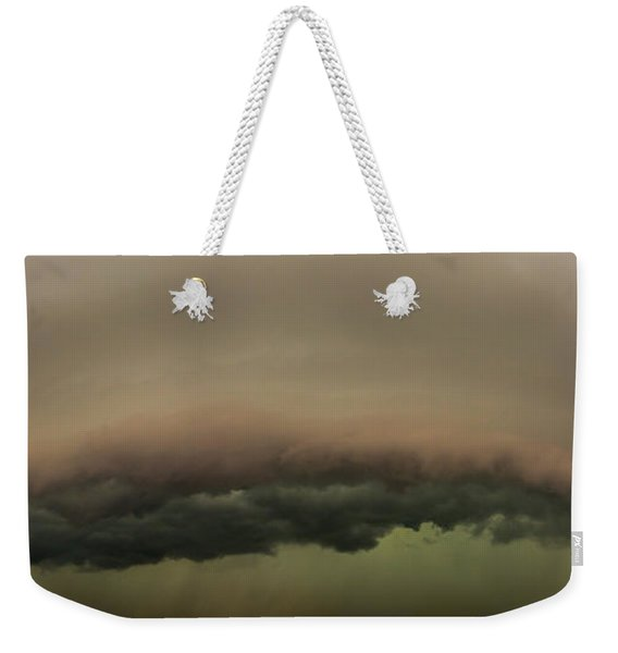 Weekender Tote Bag featuring the photograph 3rd Storm Chase Of 2015 by Dale Kaminski