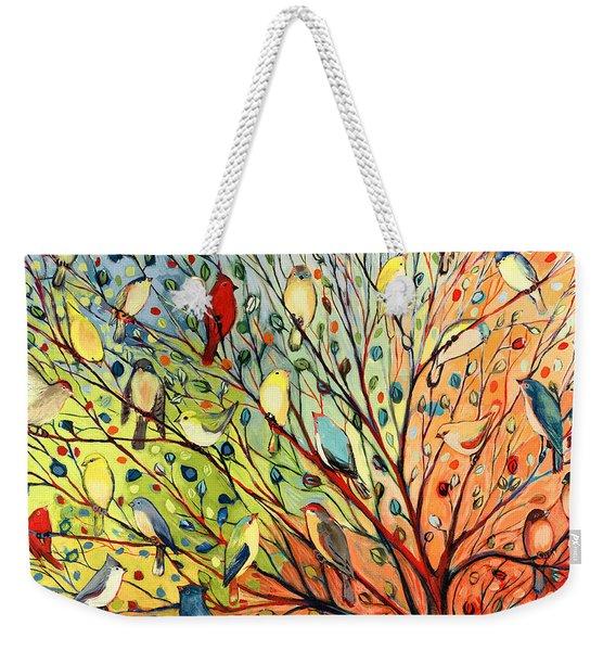 27 Birds Weekender Tote Bag
