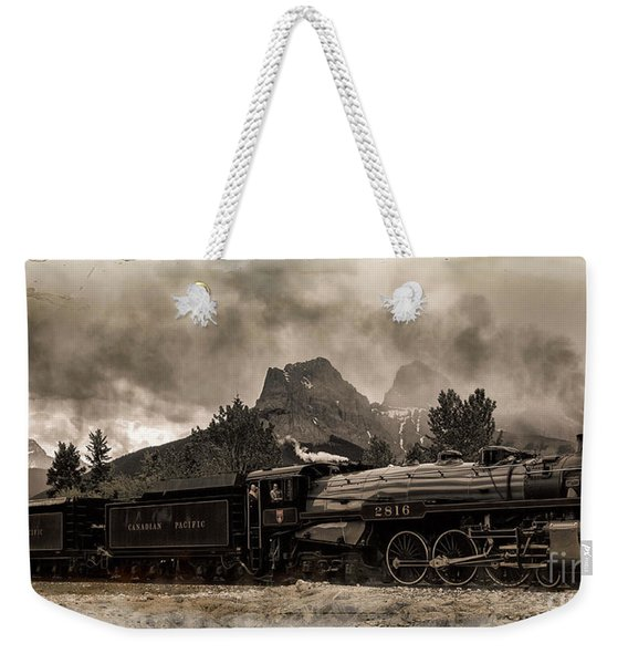 2816 Empress At Three Sisters - Canmore Weekender Tote Bag