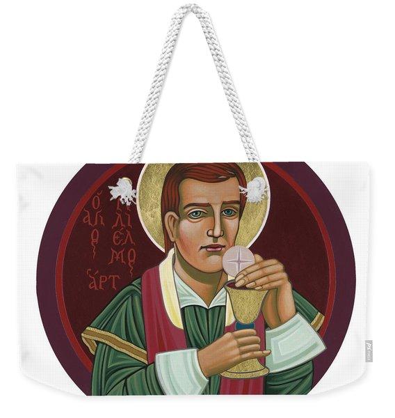 297 Holy Martyr Blessed William Hart -1583 Weekender Tote Bag